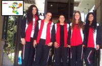 دورة الألعاب الأولمبية للشباب - نانجينغ 2014 - المنتخب الوطني للسيدات لكرة السلة 3×3