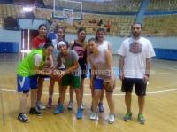 معسكر المنتخب الوطني للسيدات لكرة السلة 3×3 - دمشق 29-4-2015
