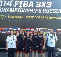 بطولة العالم لكرة السلة 3×3 - بعثة المنتخب - اليوم الأول