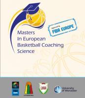 ماجستير في علم تدريب كرة السلة الأوروبية